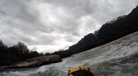 Packrafting on Rio Pico