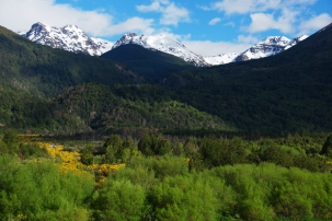 View close to the Border to Chile - Futaleufu