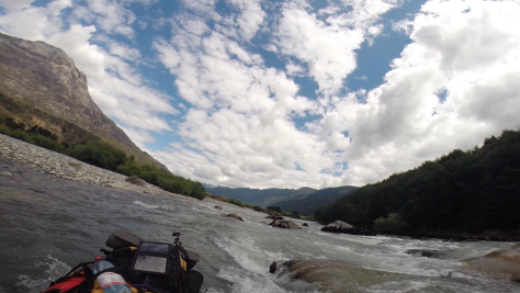 Rapid on the Rio Palena