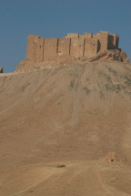 Citadelle in Palmyra before the war