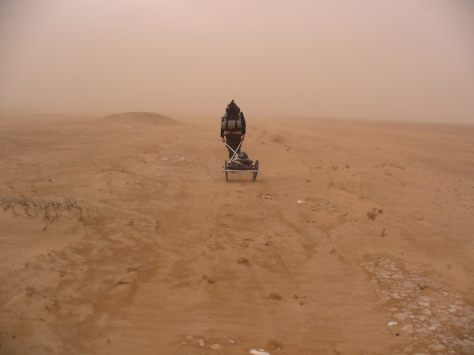 Somewhere in the Syrian Desert