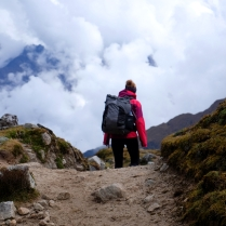 Over the Salkantay Pass (4600 m)