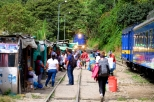 Mass Tourism at Hidroelectrica Station Machu Picchu