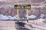 Chuculaqui Station - didn't find water here but abandoned houses to find shelter