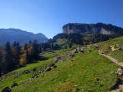 Descending down to the Seealpsee