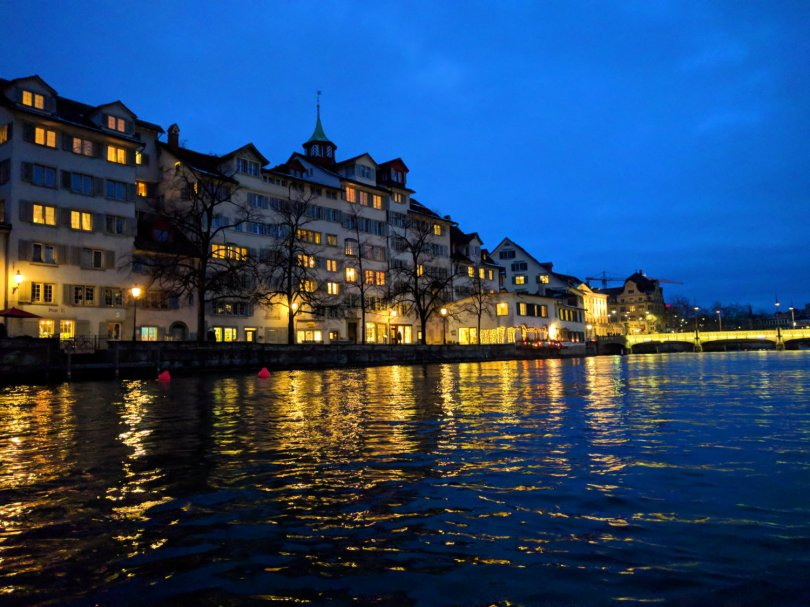 Urban Packrafting in Zurich
