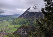 View from the Climb up to Mittagflue