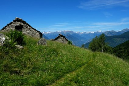Abandoned farms in Val Grande