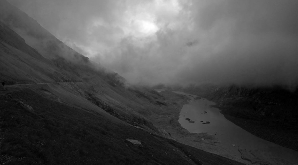 Hiking in the Grossglockner Region - View on the Glacial Sandersee