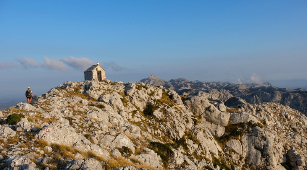 Ilija Church on top of the ridge