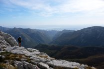 View on Paklenica National Park, Croatia