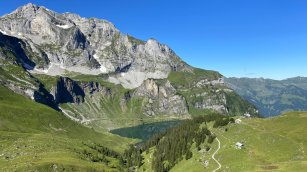 View on the Bannalpsee