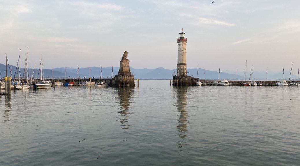 Lindau Harbour - Germany