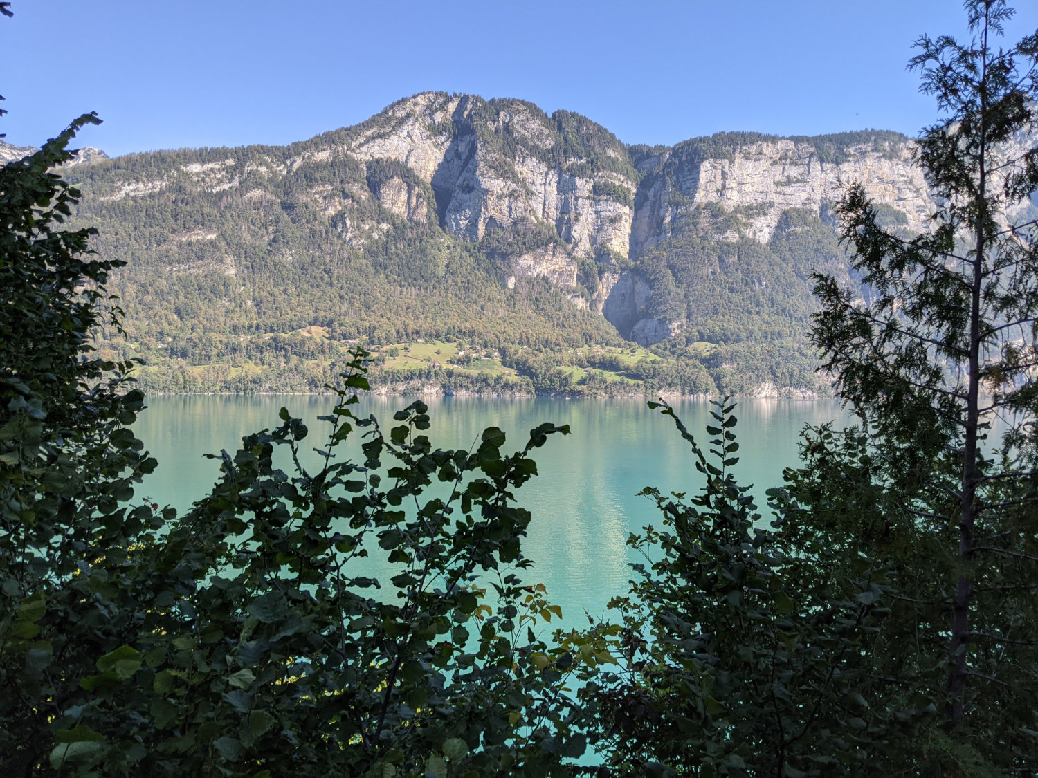 View on the Walensee
