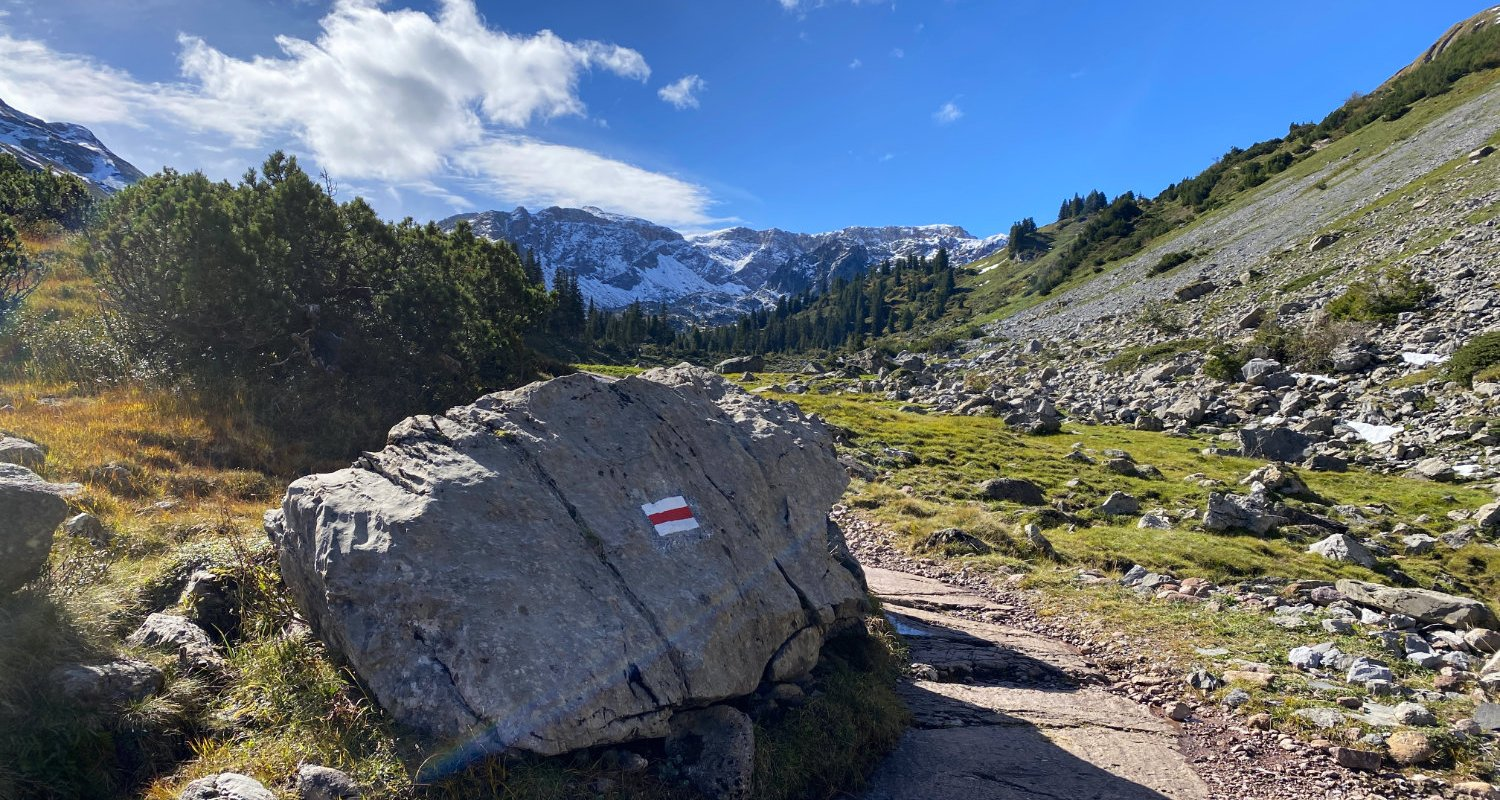 On the Murgsee Circuit Trail