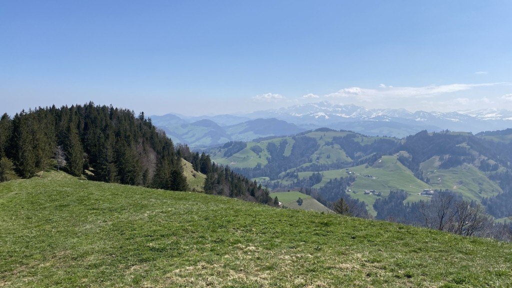 You see the Säntis in the far distance?